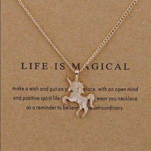 Jewelry - 4 for $20 Life is Magical gold dainty necklace